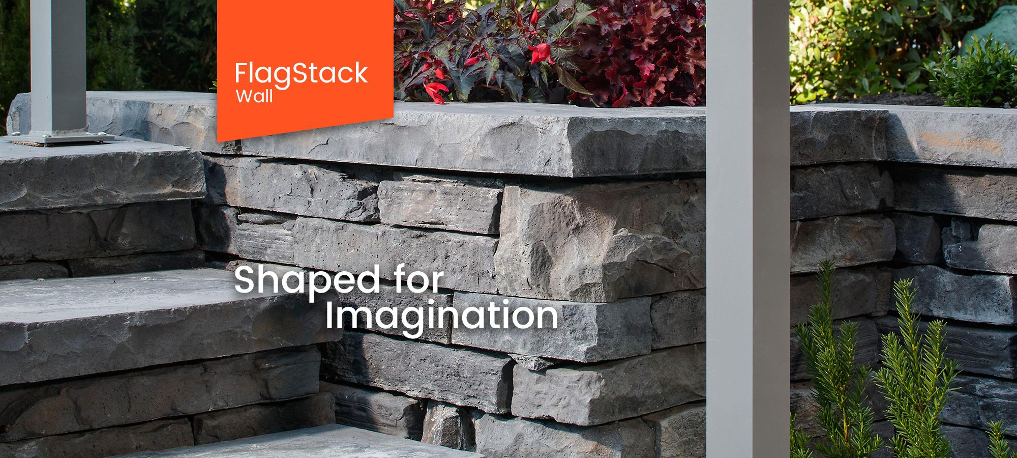FlagStack Wall