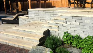 Architextures | Patio and Stairs