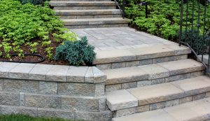 ConcordWall | Garden Wall and Stairs