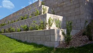 Durahold2 | Terraced Retaining Wall