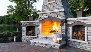 Rivercrest | Fireplace