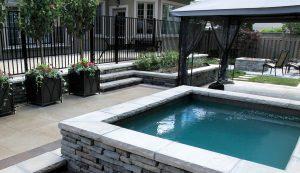 Rivercrest   Backyard Pool & Hottub