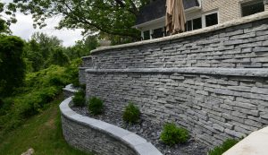 Rivercrest | Terraced Retaining Wall