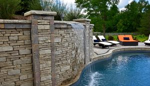 Rivercrest | Pool with Water Feature